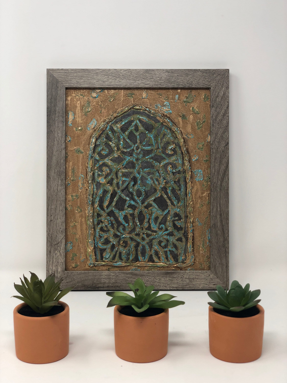 Abstract Arabesque Western Art