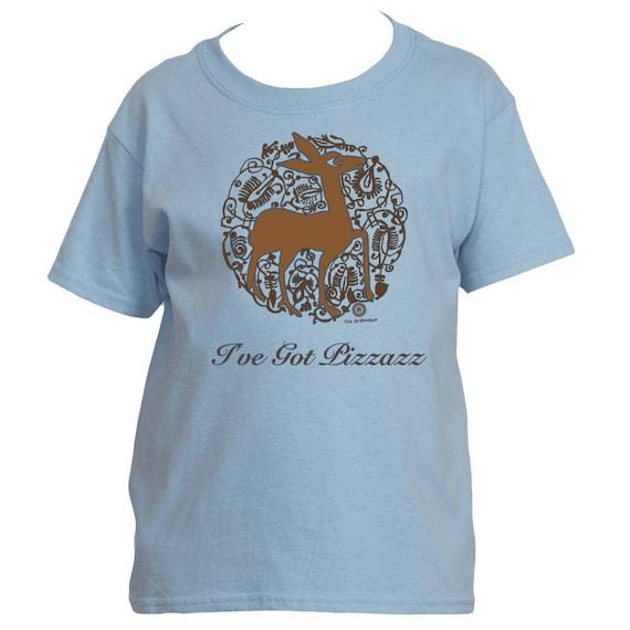 I've Got Pizzazz - Medieval Valencian Deer Kids T-Shirt