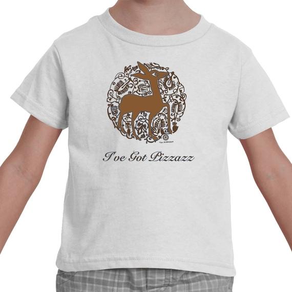 I've Got Pizzazz - Medieval Valencian Deer Toddler T-shirt