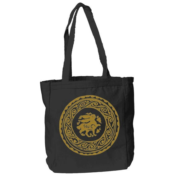 The Arabesque Bunny Medieval Hare Tote Bag by The Arabesque
