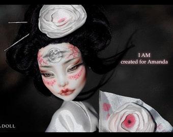 Custom Listing for Amanda | Monster High Repaint Art Doll OOAK – Spectra Vondergeist