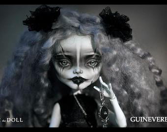 SALE | Monster High Repaint Art Doll OOAK – Frankie Stein | Guinevere