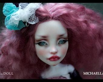 Reserved for Vivian | Monster High Repaint Art Doll OOAK – Spectra Vondergeist | Michaella | Final Payment 3 of 3