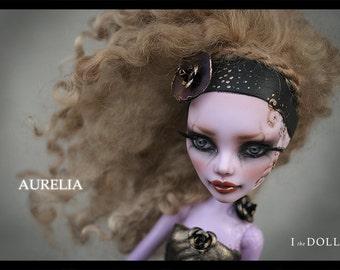 Reserved for Aprille | Monster High Repaint Art Doll OOAK – Operetta | Aurelia | Payment 1 of 3