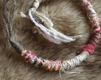 """12"""" Sterling& Lace Hair Wrap"""