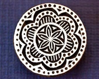 Flower Mandala Stamp