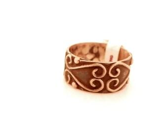 db03fcb498ec Taxco plata esterlina anillo ornamentado
