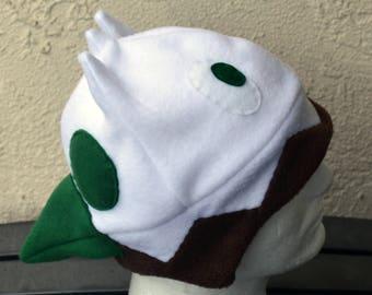 Snover Pokemon Fleece Hat with Earflaps
