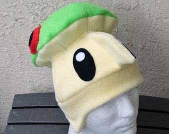 Breloom Pokemon Fleece Hat with Earflaps