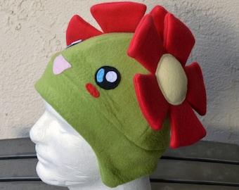 Bellossum Pokemon Fleece Hat with Earflaps