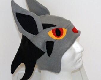 Mightyena Pokemon Fleece Hat with Earflaps