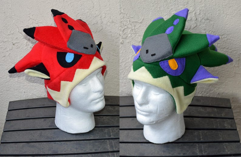 f60758fae9205 Dreadking or Dreadqueen Monster Hunter Fleece Hat with
