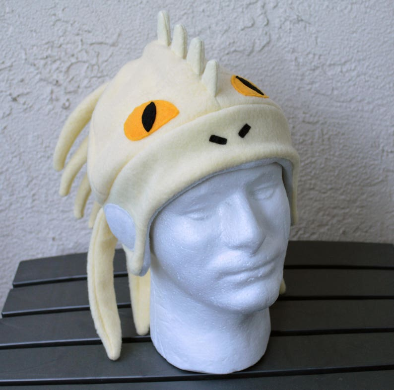 24ac82a90010f Great Jagras Monster Hunter Fleece Hat with Earflaps