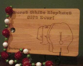 white elephant exchange worst gift horrible gift silly gag gift