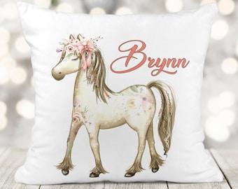Unicorn Pillow Rainbow Pony Pillow HANDMADE in USA NEW Pillow