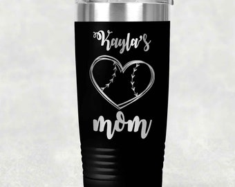 d9939493a8d34 Personalized 20 oz. Tumbler Baseball/Softball Tumbler| Baseball Mom  Tumbler| Baseball Dad Tumbler| Baseball Grandparent Tumbler| Softball