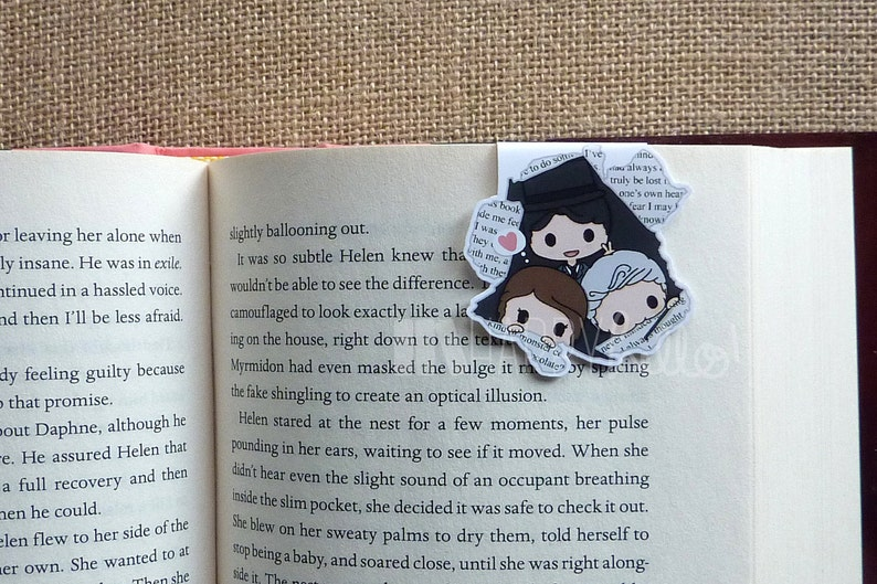 Magnetic Bookmarks • From the Pages of a Book 1