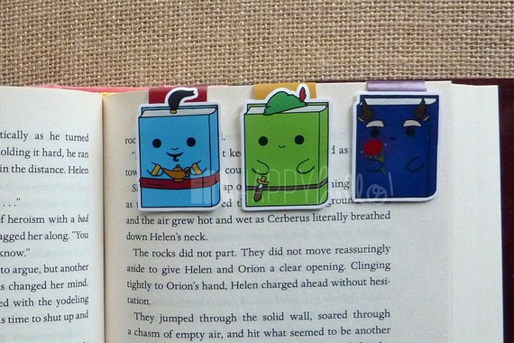 Magnetic Bookmarks • Once Upon A Time