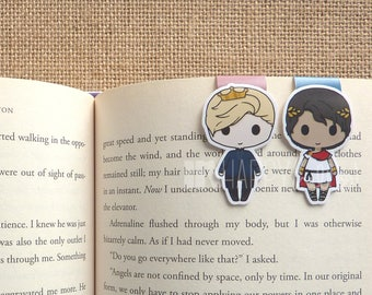 Magnetic Bookmarks • Royalty in Chains