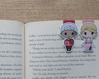 Magnetic Bookmarks • The Assassin & Her Valentine