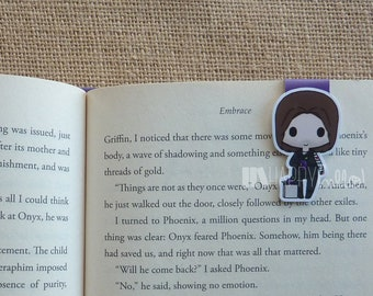 Magnetic Bookmarks • Soldier and His Plums