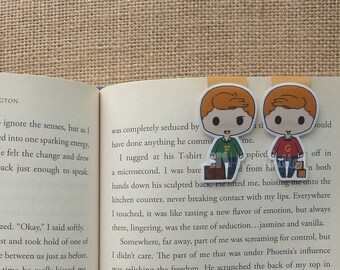 Magnetic Bookmarks • Wizard Twins