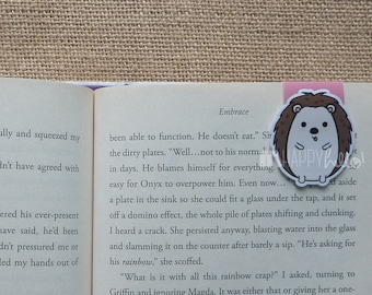 Magnetic Bookmarks • Happy Hedgehog