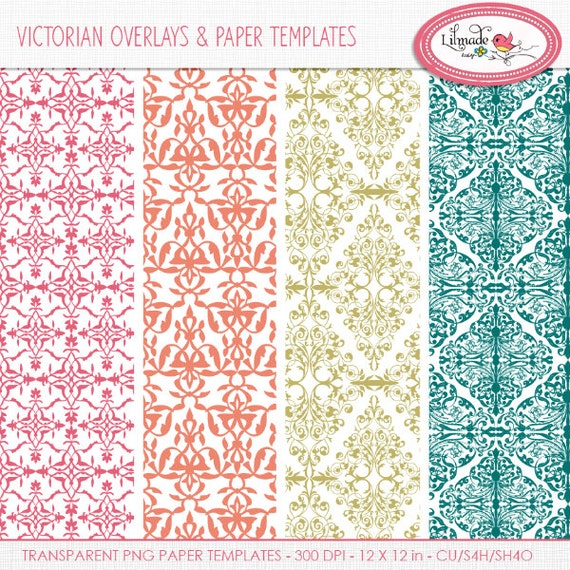 damask pattern damask paper template damask photoshop etsy