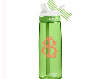 e3eccd48a0c Monogrammed Camelbak, Monogram Camelbak, Monogram Water Bottle, Monogrammed Water  Bottle, Monogram Gift