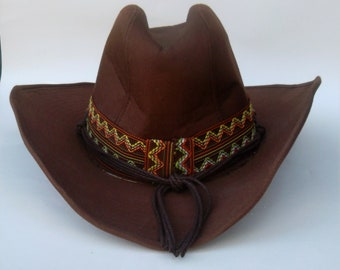 Brown cowboy hat  68e4d207aa6f