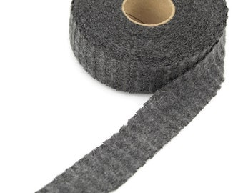 Beige Fancy Waffle Sweater Knit Bias Tape 1.25 inches width x 28 yards BST00177