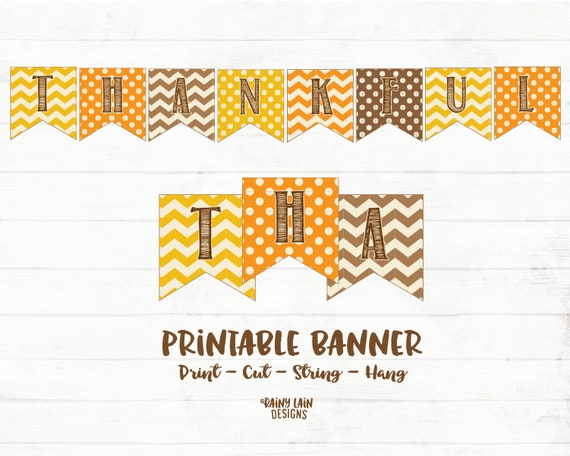 photograph relating to Thanksgiving Banner Printable named Grateful Printable Banner, Grateful Banner, Grateful Indication, Thanksgiving Banner, Thanksgiving Decorations, Printable, Polka Dots, Chevron