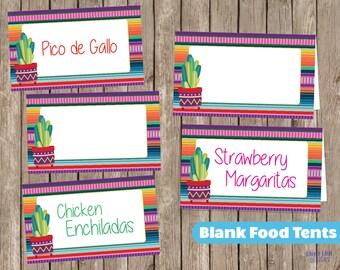 5 Fiesta Printable Signs Serape Blanket Graduation Party 1st