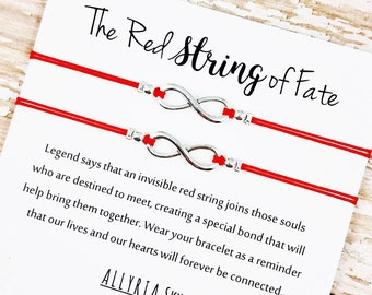 Red string of fate   Etsy