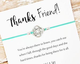 Friend Thank You Etsy