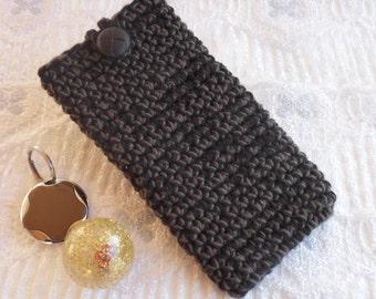 handmade phone case crochet phone cover samsung galaxy S7 iphone 6 and 7 cellphone sleeve sony blackberry appleLG