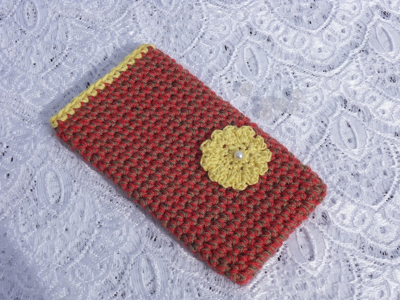Handmade Phone Case Crochet Iphone Case Cellphone Sleeve Etsy