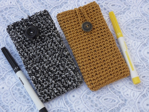 Crochet Phone Case Iphone Cover Smartphone Sleeve Lg Samsung Etsy