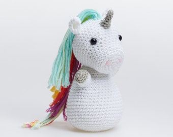 Unicorn Amigurumi, Amigurumi Unicorn, Unicorn Plush, Crochet Unicorn, Unicorn Stuffed Toy, Unicorn Stuffed Animal