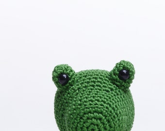Frog Plush, Frog Soft Toy, Frog Stuffed toy, Crochet Frog, Frog Amigurumi, Green Frog Soft Toy