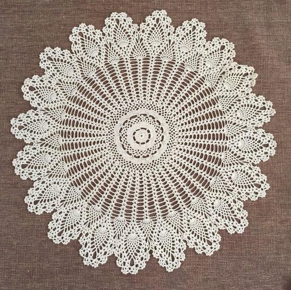 Gehäkelten Muster Tisch Decken Handgefertigte Kaffee Tisch Etsy