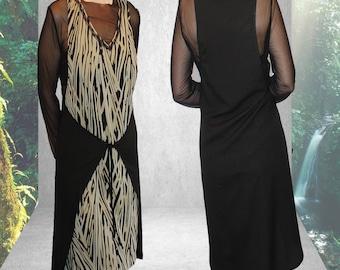 Original dress zebra print brown.