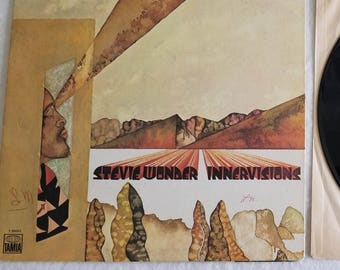 "Vintage Vinyl LP - Stevie Wonder ""Innervisions"""