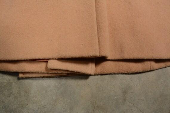 vintage 40s 50s wool princess coat double breaste… - image 6