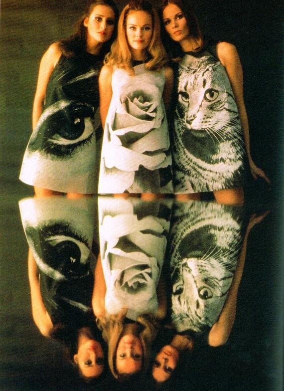 Harry Gordon Poster Dress - iconic mid century fas