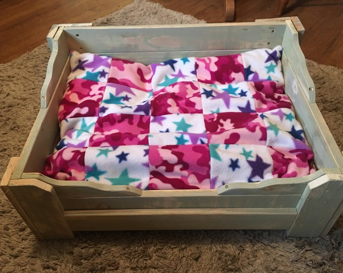Individually Hand-made Dog Bed 60cms x 43cms
