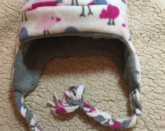 Childs Fleece Helmet Reversible