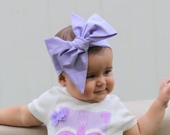 Baby Head Wrap, Baby Headwrap, Lavender Baby Headband, Baby Turban, Toddler HeadWrap, Girls Headwrap Turban, Lavender Head wrap, 2244