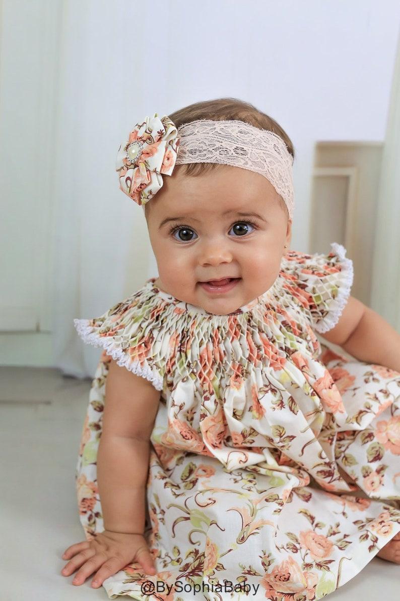 13f4f67b16 Baby Dress, Baby Tea Party Dress, Baby Flower Girl Dress, Baby Floral  Vintage Dress, Baby Dress , Baby Floral Dress, 1130