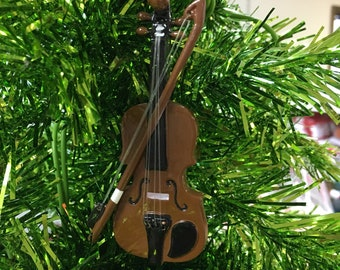 Violin ornament | Etsy